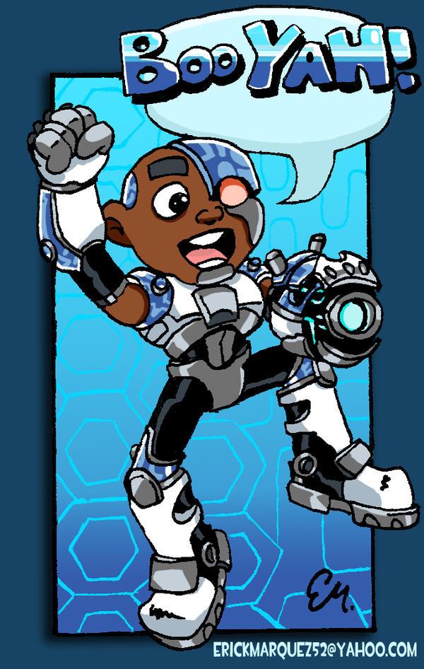 Tiny Cyborg- BOOYAH by TheInsaneDingo