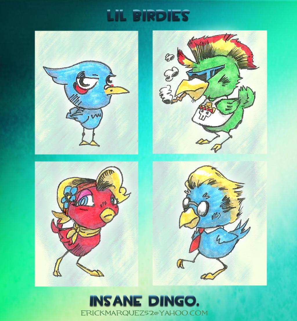 lil Birdies by TheInsaneDingo
