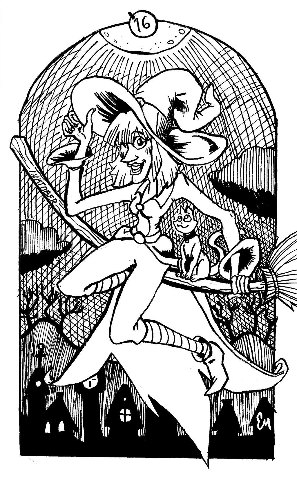 Witch by TheInsaneDingo