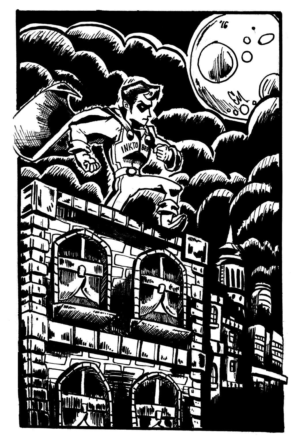 Super Inktober Man! by TheInsaneDingo