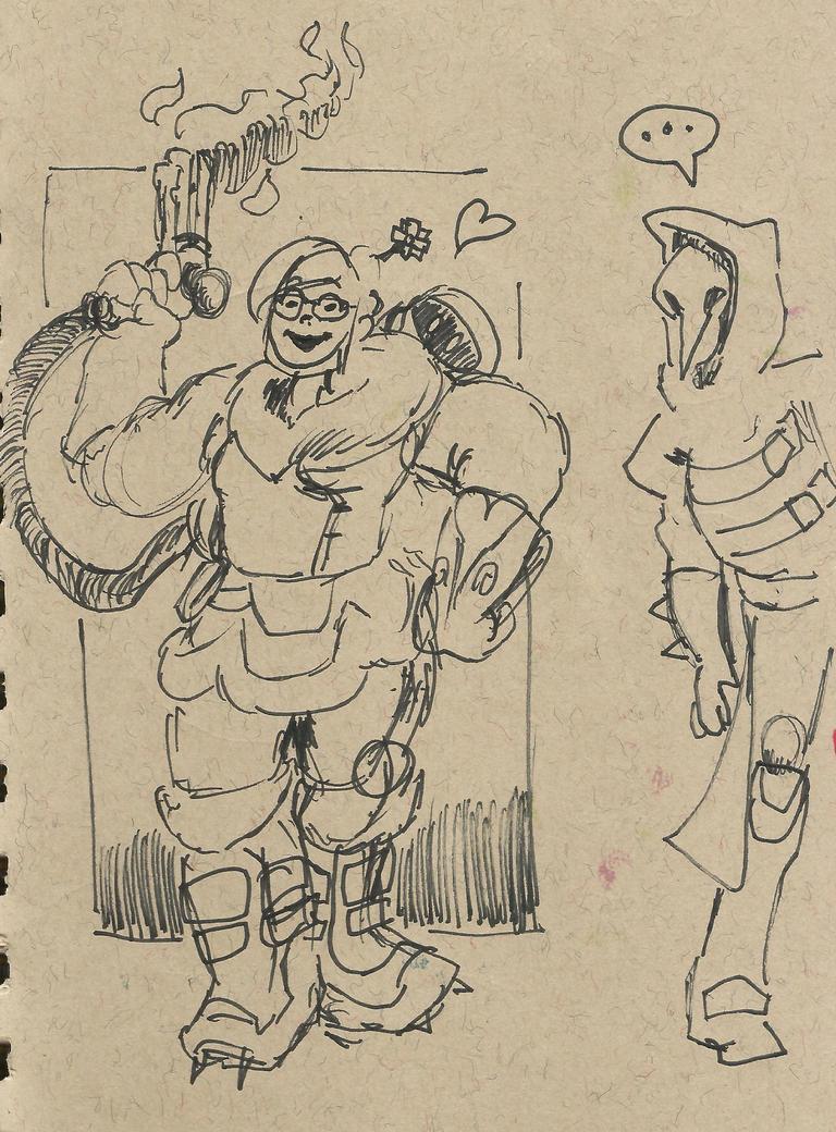 Mei Sketch by TheInsaneDingo