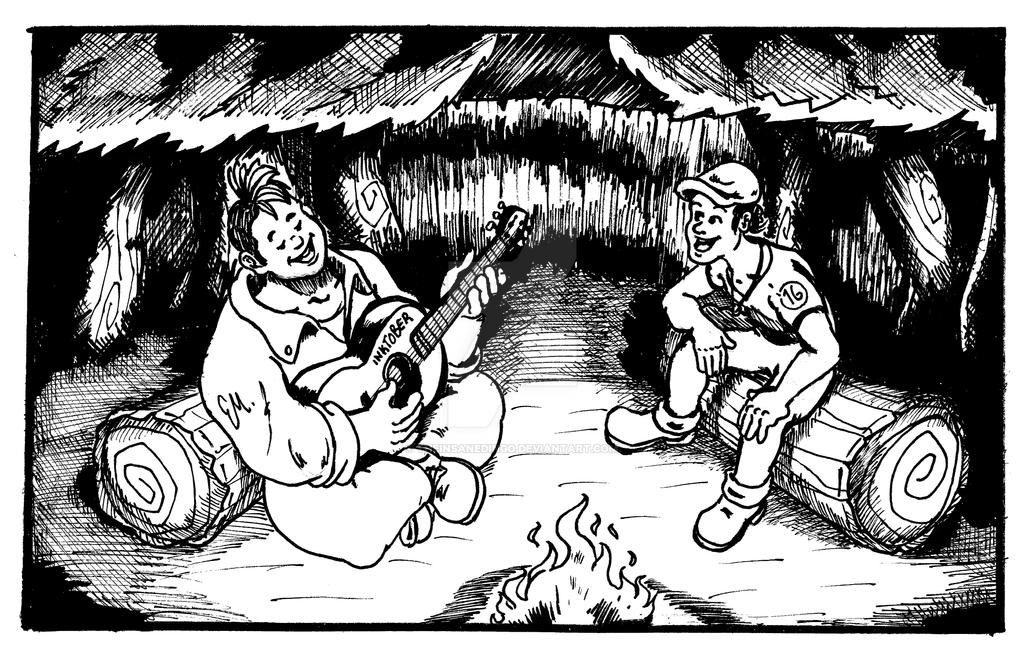 Campfire Songs. by TheInsaneDingo