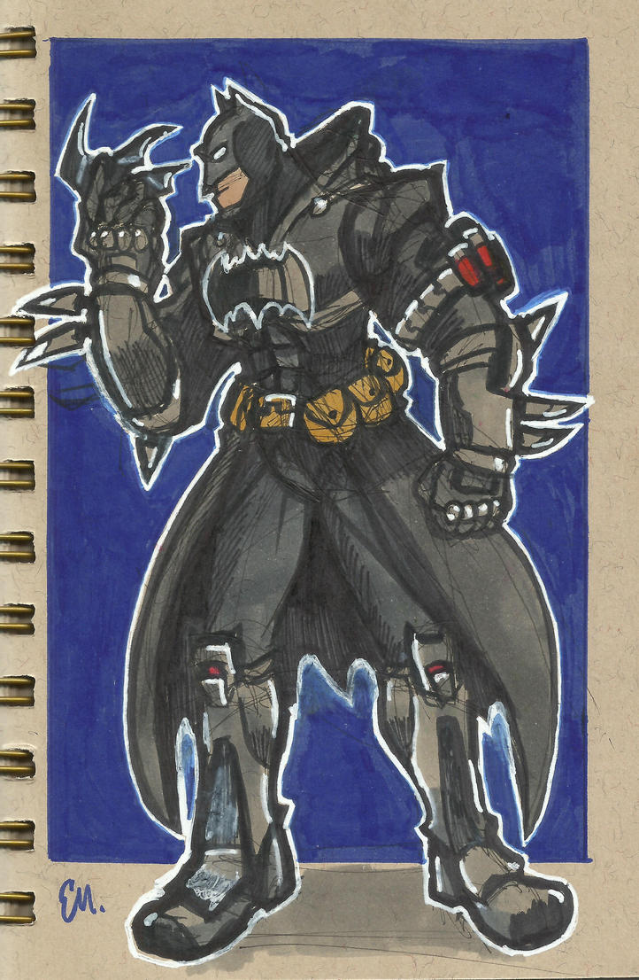 Batman Reaper by TheInsaneDingo