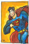 Water Color Superman!