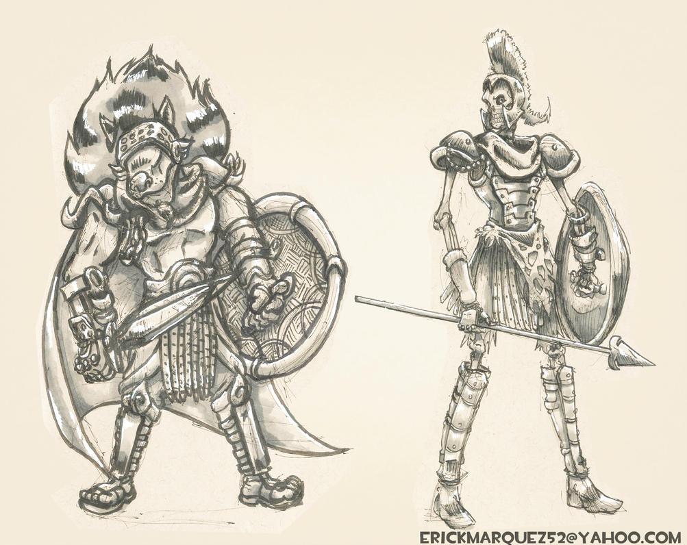 Gladiator Concepts by TheInsaneDingo