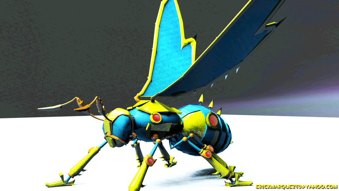 Mechanical Wasp by TheInsaneDingo