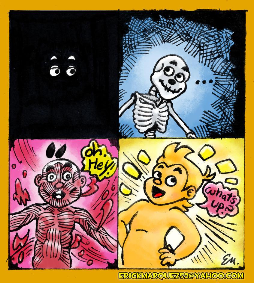 Erick Regenerates Comic by TheInsaneDingo