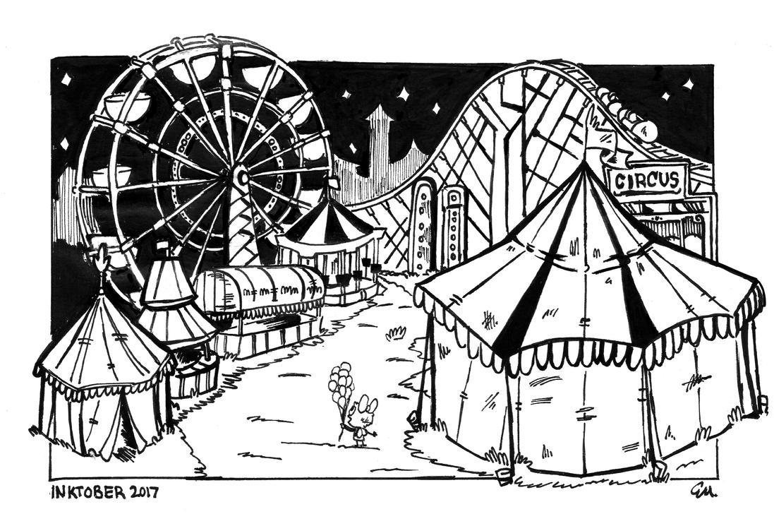 Circus nights! by TheInsaneDingo