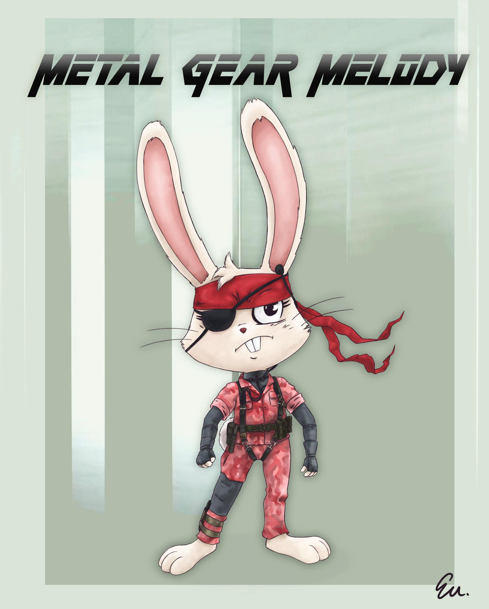 METAL GEAR MELODY by TheInsaneDingo