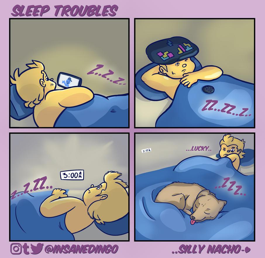 Sleep Troubles by TheInsaneDingo