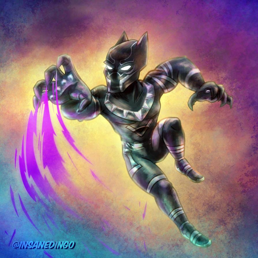 Black Panther by TheInsaneDingo