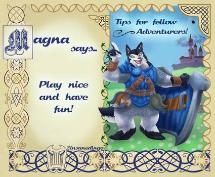 Magna says!