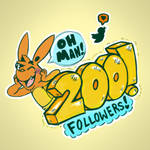Reaching 200 Followers on Twitter!