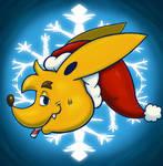 Dingo Santa Icon