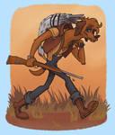 Rhodesian Ridgeback Hunter