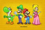 Super Mario Line up
