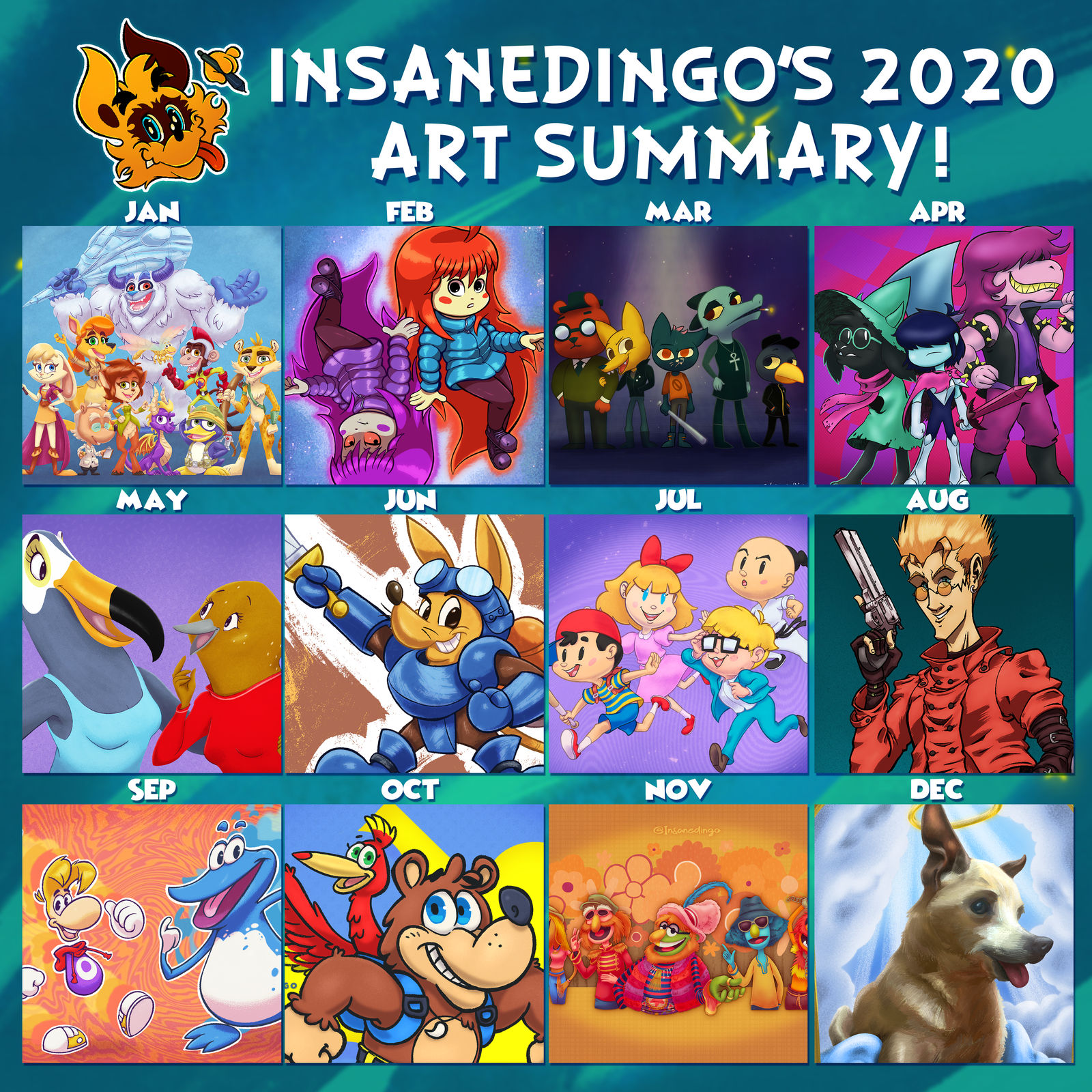 Art Summary of 2020