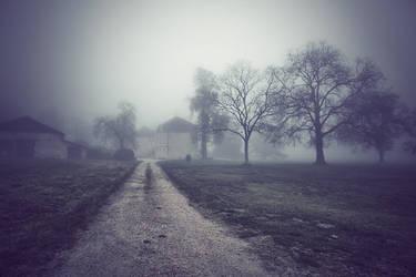 Le domaine sous la brume... by julie-rc