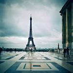 Paris by rain ...