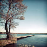 Le lac ...