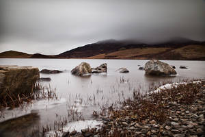 Rocks on the loch ... by julie-rc