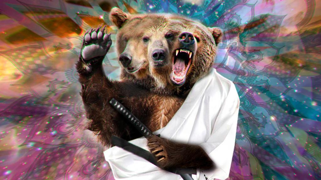Bear God by BizarreTarot