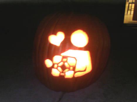 the pumpkin is a lie.