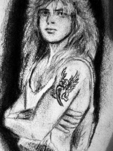 Steven Adler Guns n Roses- WIP by mslaurnq