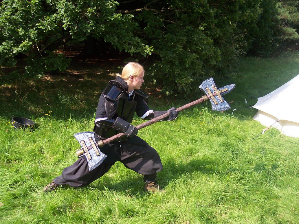 Hollow Keyblade Wars Larp_23___the_double_axe_mk__2_by_webkilla