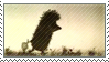 Hedgehog in the Fog_stamp by Jetera