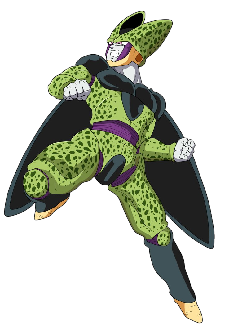 Cell - Perfect Form - Render by LUISHATAKEUCHIHA on DeviantArt
