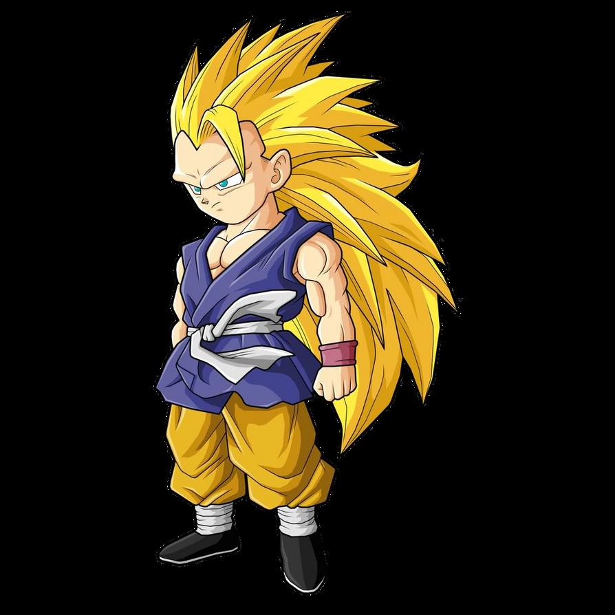 Son Goku Gt Ssj3 Render By Luishatakeuchiha On Deviantart