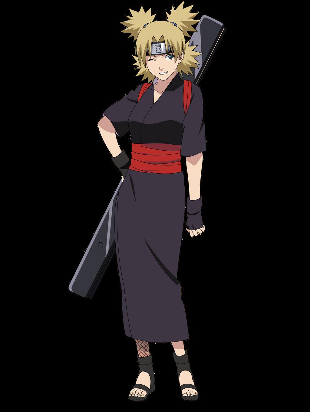 Naruto temari