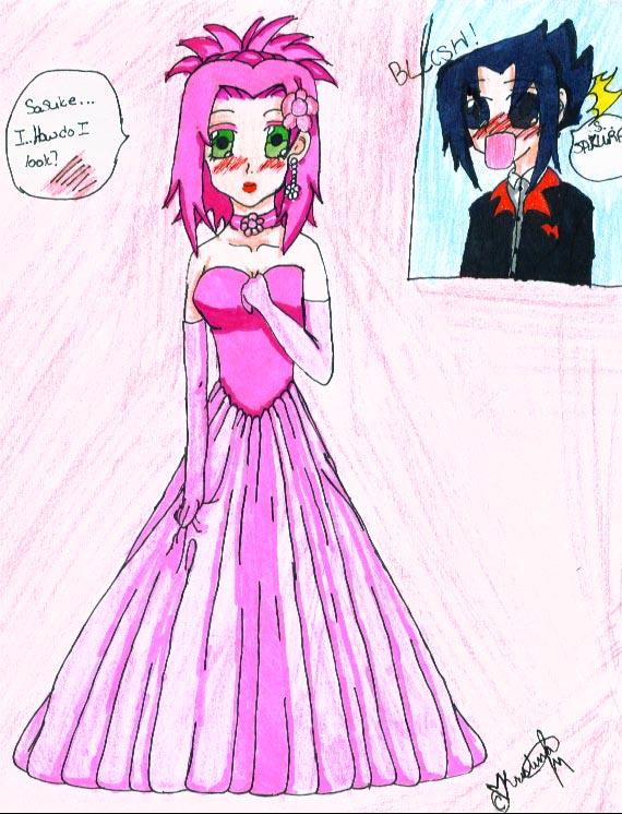 Sakura and Sasuke's Wedding by gothicjapan1 on DeviantArt
