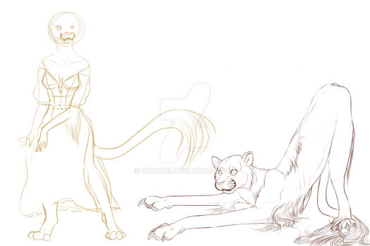 Wip of gypsy cheetah