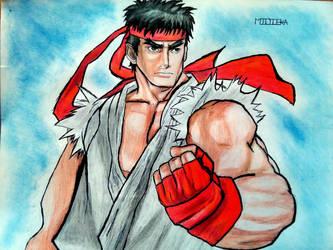 Ryu - Street Fighter by Midieka