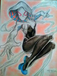 Gwen Stacy by Midieka
