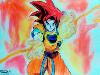 G. Goku by Midieka