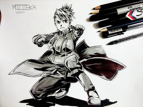 Riza Hawkeye by Midieka