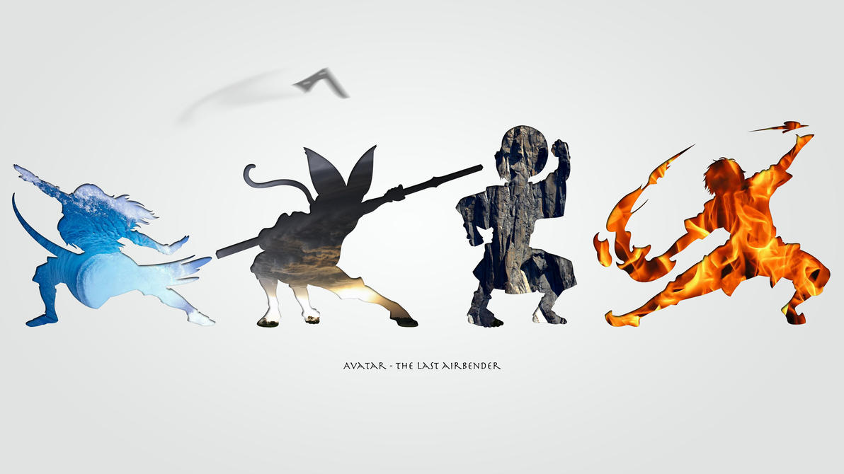 Avatar - The four Elements by blargmode