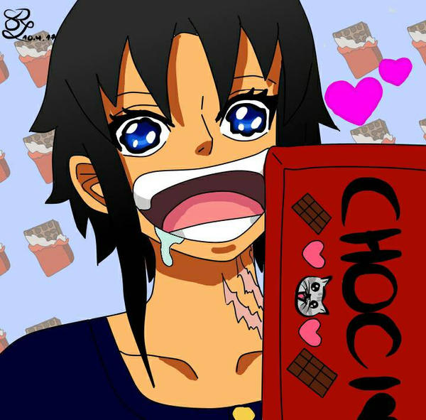 When Reighly sees chocolate xD by Reighly