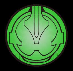 Kamen Rider Necrom Eyecon Logo by raidenzein