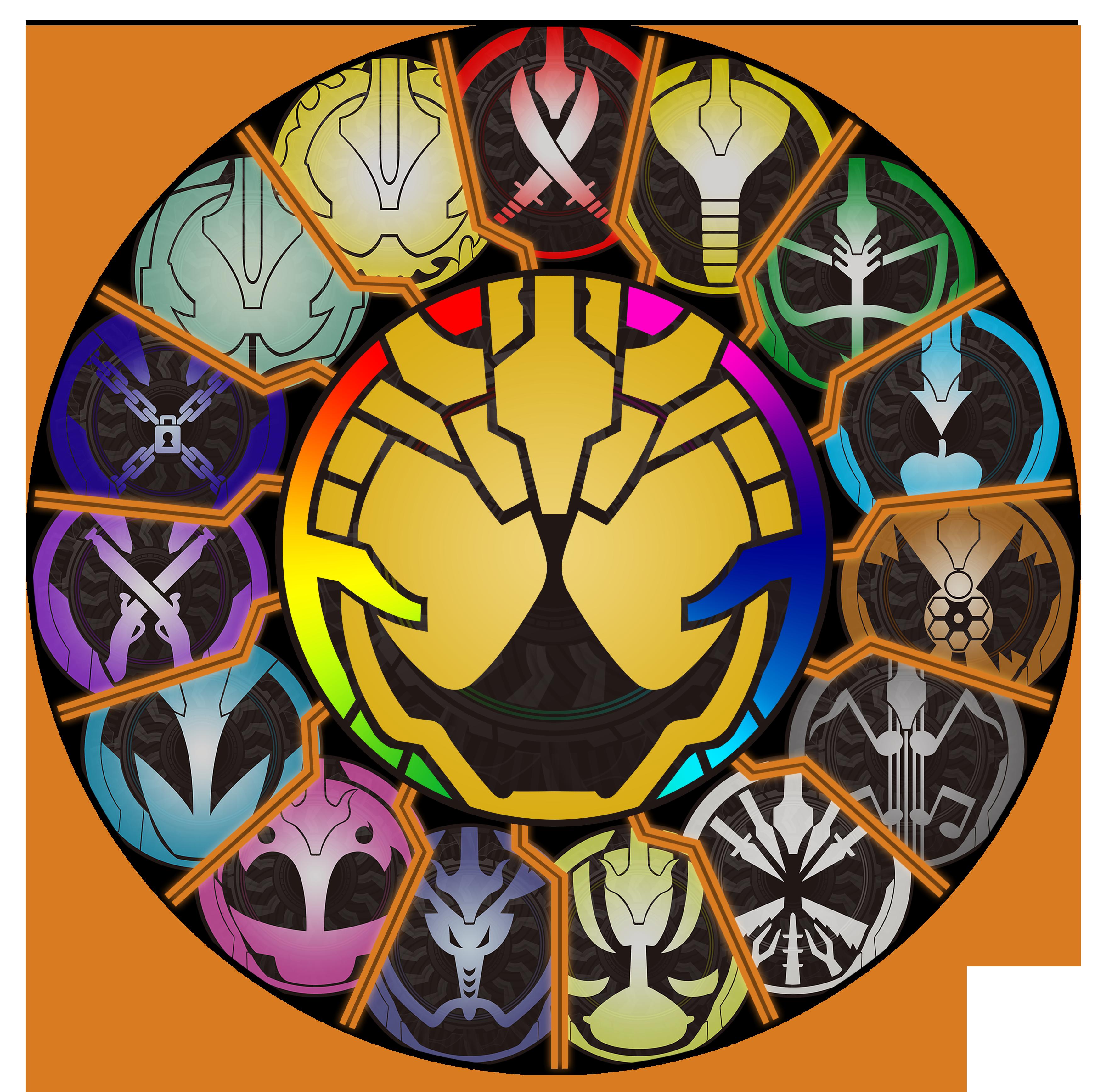 Kamen Rider Ghost Grateful Logo All By Raidenzein On