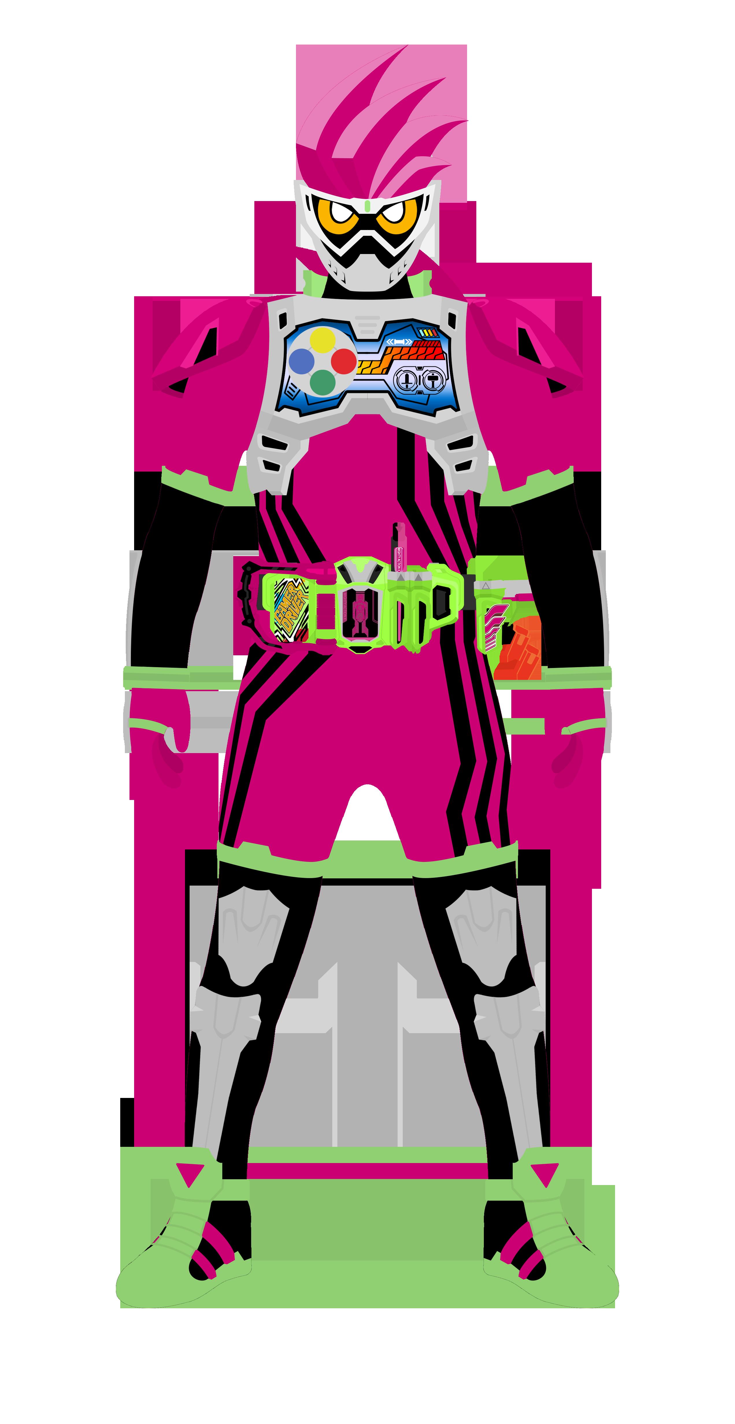 Kamen Rider Ex-Aid Lv2 by raidenzein on DeviantArt