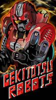 Gekitotsu Robots Phone Wallpaper by raidenzein