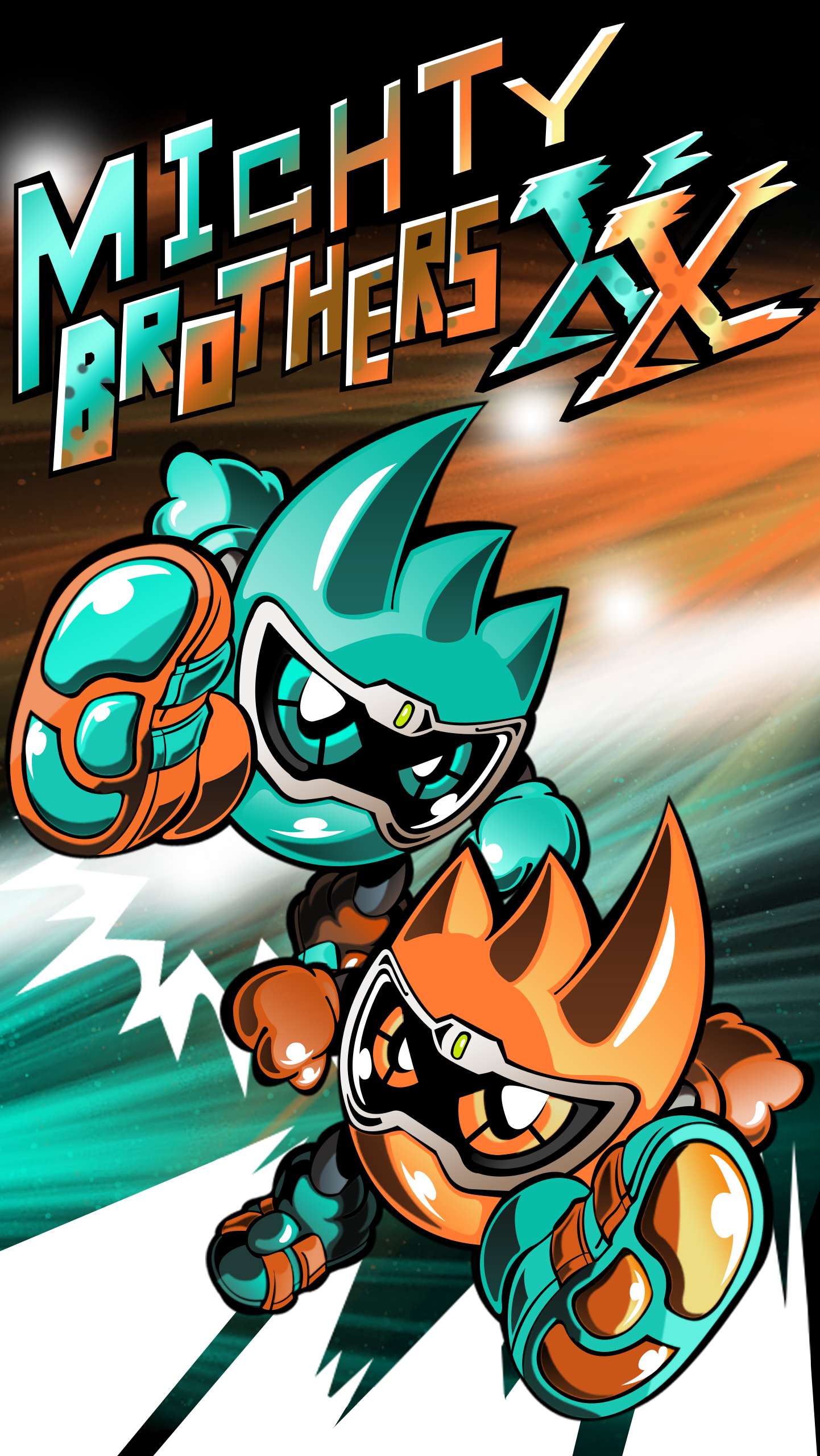 Mighty Brother XX Phone Wallpaper by raidenzein
