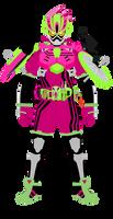 Kamen Rider Ex-Aid Lv3 Shakariki Sports