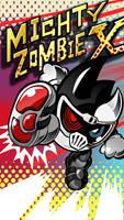Mighty Zombie X Phone Wallpaper by raidenzein