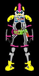 Kamen Rider Lazer Turbo Lv0 by raidenzein