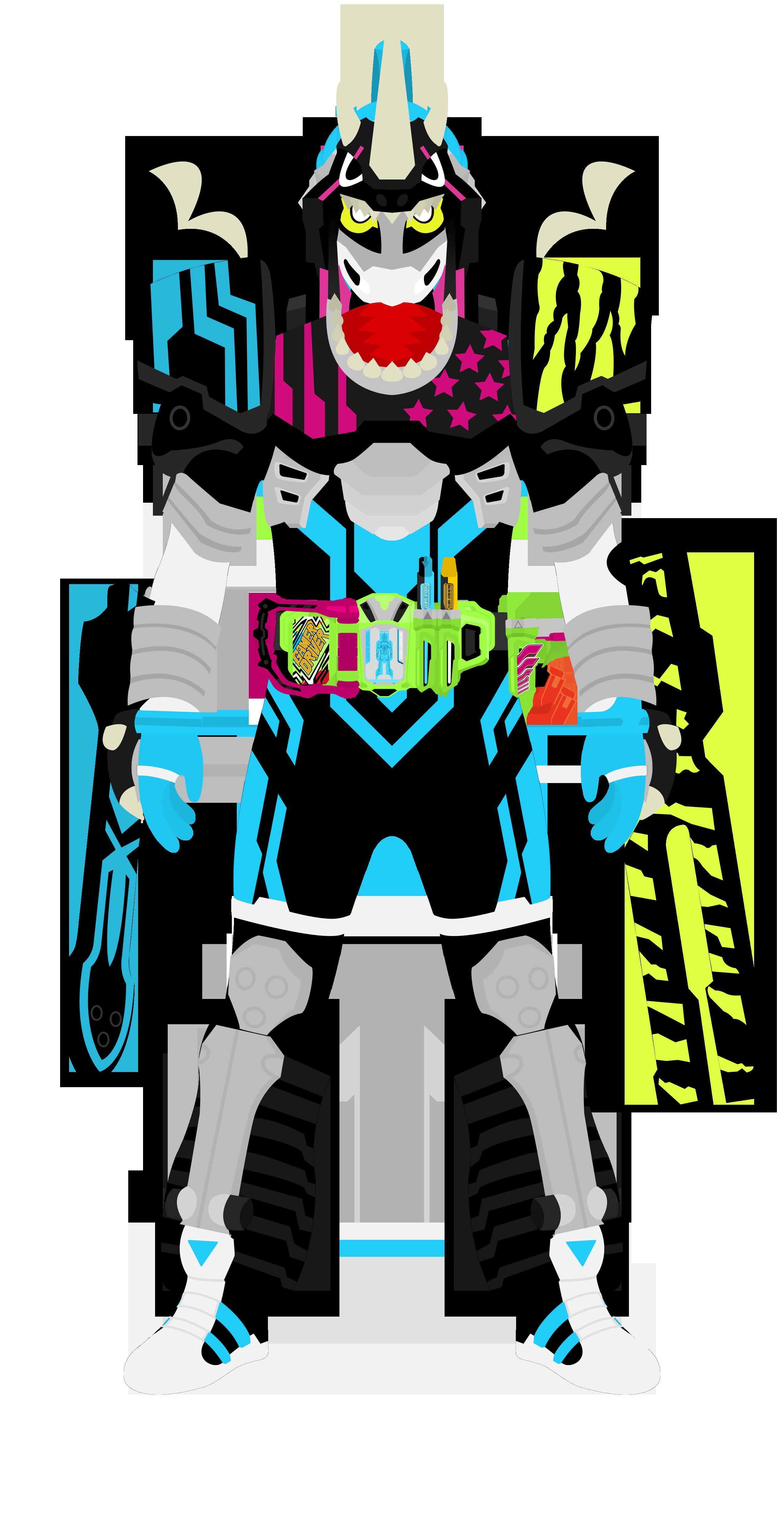 Kamen Rider Brave Lv5 Drago Knight Hunter Z by raidenzein